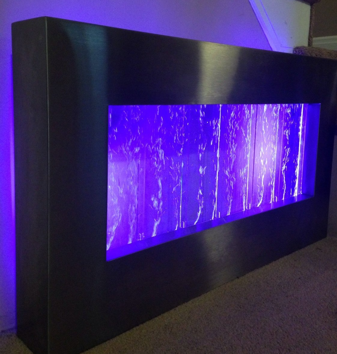Color Changing Cars: Wall Mounted Color Changing Bubble Panel
